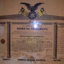 Gamma Kappa Charter  05-02-1902