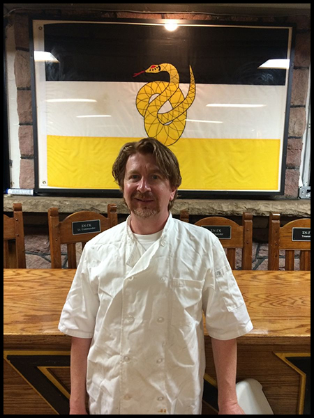 """My goal in fraternity dining is to create a setting that will be looked back on with gratitude, as a significant part of the college and fraternity experience."" -Leland Oxley, Executive Chef at Sigma Nu Fraternity"