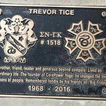 Alumni Trevor Tice, 1968 - 2016