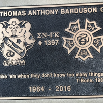 Alumni Thomas Anthony Barduson, 1964 - 2016