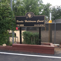Burdie Haldorson Court