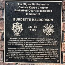 Alumni Burdette Haldorson