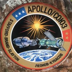 Appolo - Soyuz Mission Emblem-2