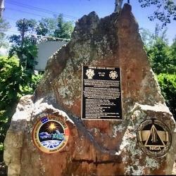 Vance Brand plaque dedication