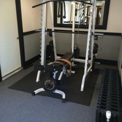 Main House -1st floor gym  08.2014