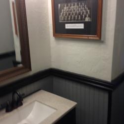 Newly renovated 1st floor bathroom